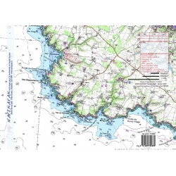 Carte de Belle ile en mer