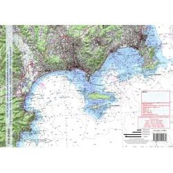 Carte de Cap d'Antibes