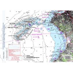 Carte de Iles du Frioul