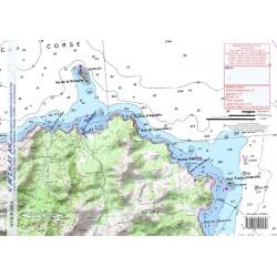 Carte de Cap Corse