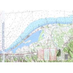 Carte de Bastia