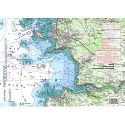 Carte de l'ile Milliau