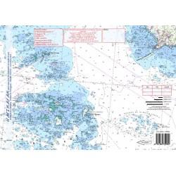 Carte de Les Glénans
