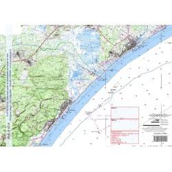 Carte de Narbonne Plage