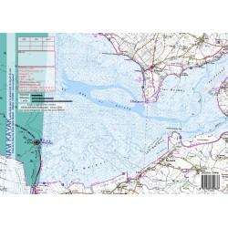 Carte de Mont Saint Michel
