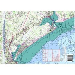 Carte de Havre de Carteret...