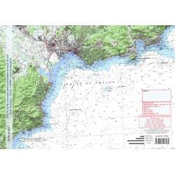 Carte de Golfe de Fréjus