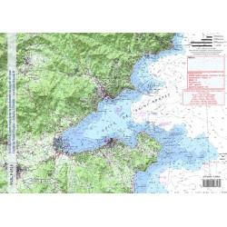 Carte de Saint Tropez
