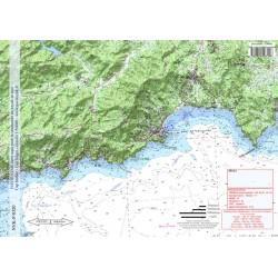 Carte de Cavalaire sur Mer