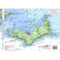 Carte de Iles de Porquerolles