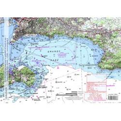 Carte de Toulon Grande Rade