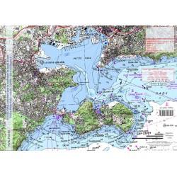 Carte de Toulon Petite Rade