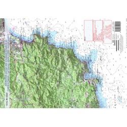 Carte de Golfe de la Napoule