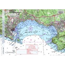 Carte de Baie de la Ciotat