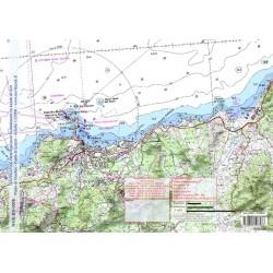 Carte de L'île Rousse