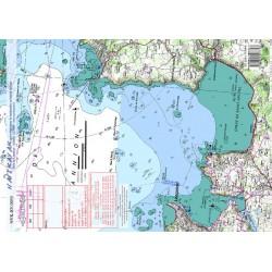 Carte de Baie de Lannion