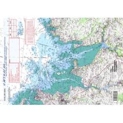 Carte de Baie de Morlaix