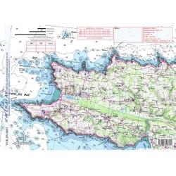 Carte de Baie des Trépassés