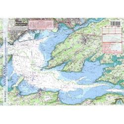 Carte de Rade de Brest