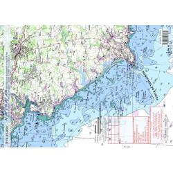 Carte de Pointe de Trévignon