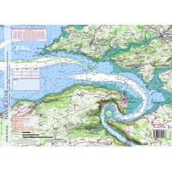 Carte de Aulne Maritime