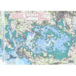 Carte de Golfe du Morbihan