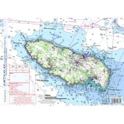 Carte de Ile de Groix