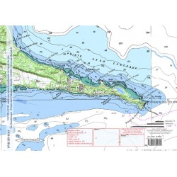 Carte de Pointe des Châteaux
