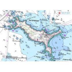 Carte Randonnée des Iles de...
